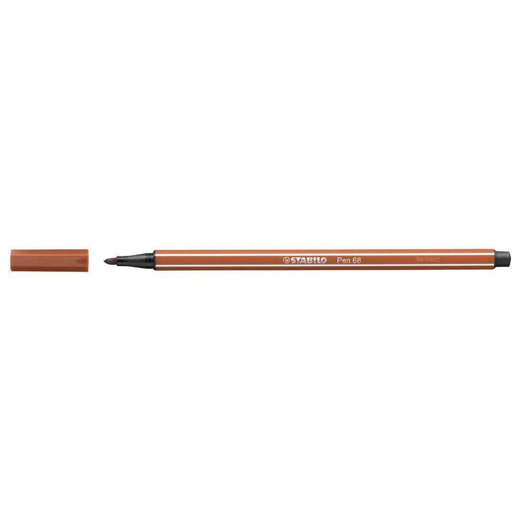 Stabilo Pen 68 fixka, 68/89 okrová tmavá