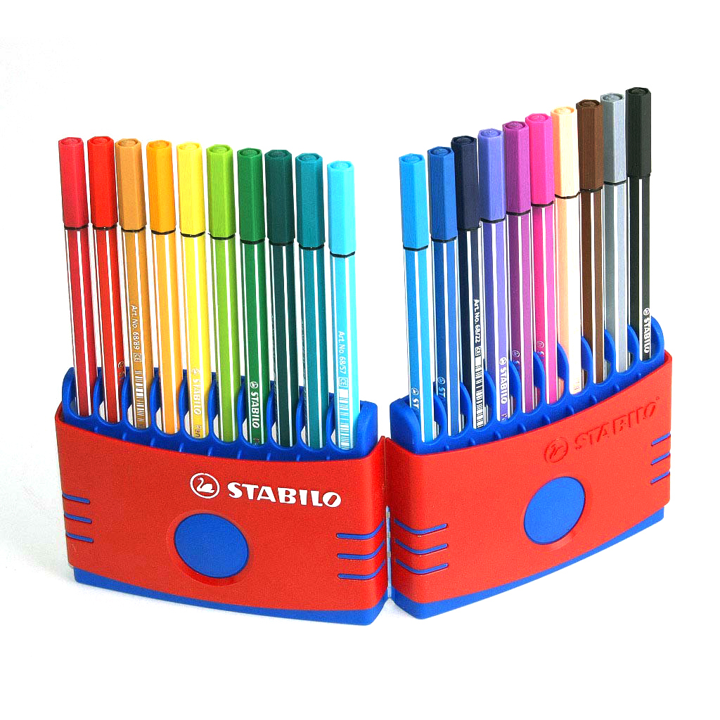 Stabilo Pen 68 fixka, 68 Colorparade / 20 ks