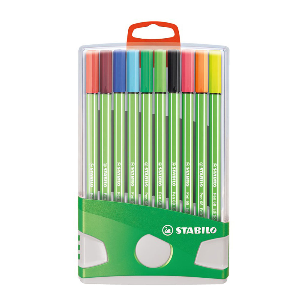 Stabilo Pen 68 fixka, Green Edition, Colorparade / 20 ks