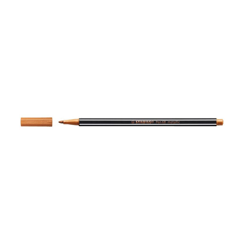 Stabilo Pen 68 fixka, 68/820 metallic medená