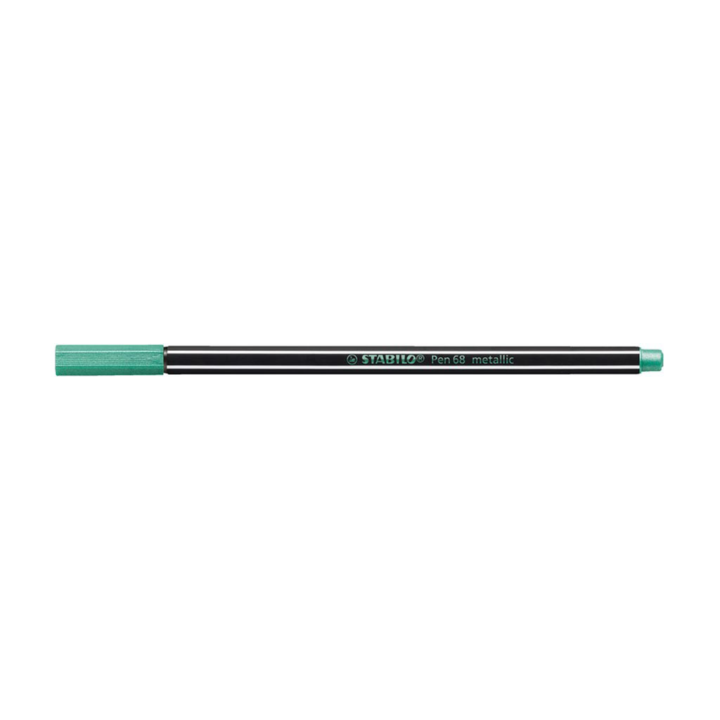 Stabilo Pen 68 fixka, 68/836 metallic zelená