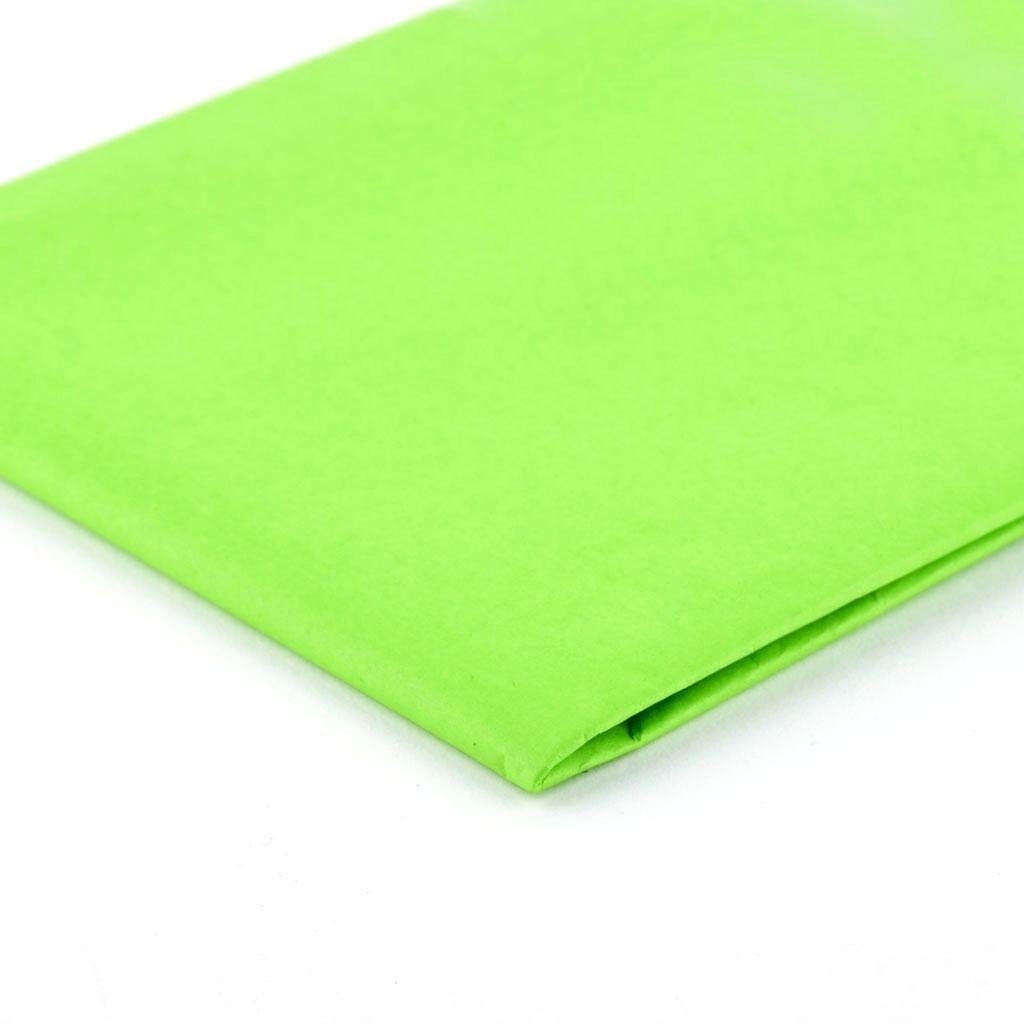 Papier hodvábny, 50x70 cm, 5 ks - svetlozelený