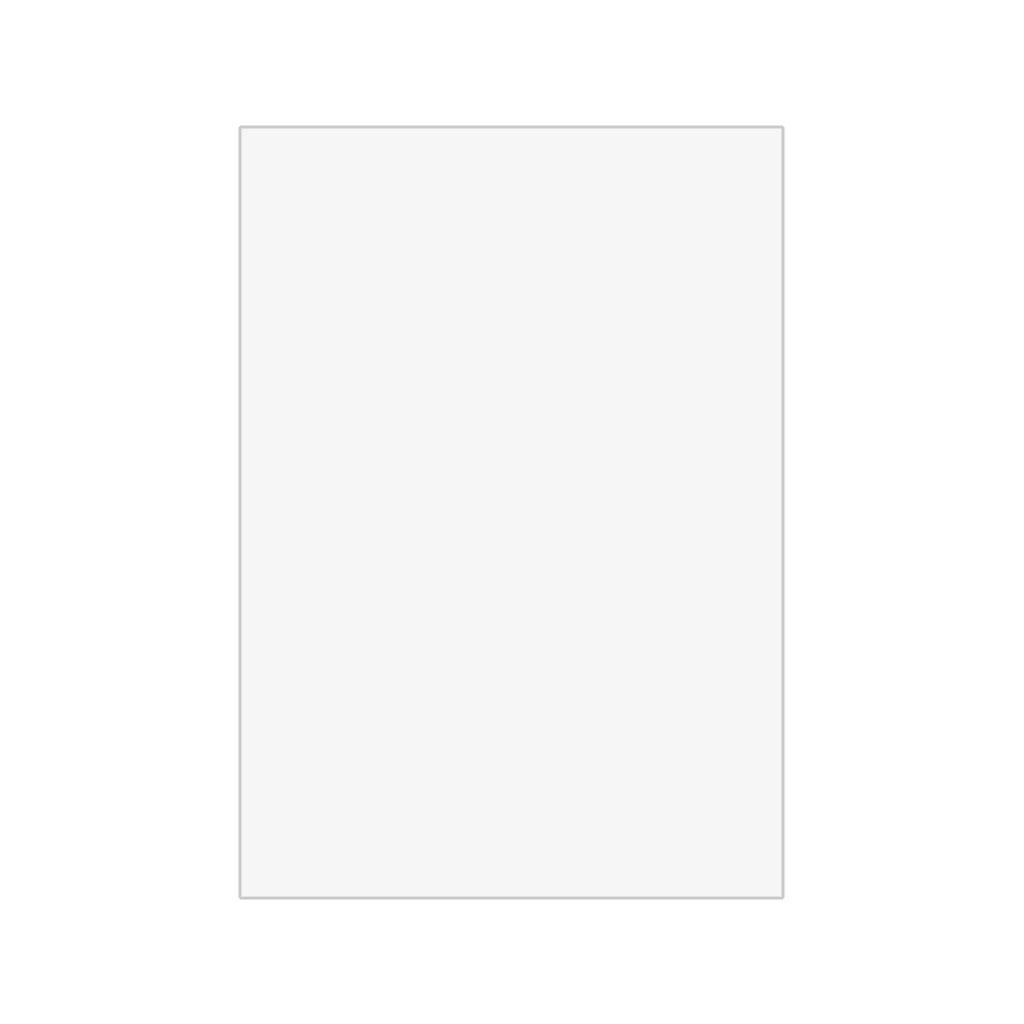 Papier hodvábny, 50x70 cm, 10 ks - biely
