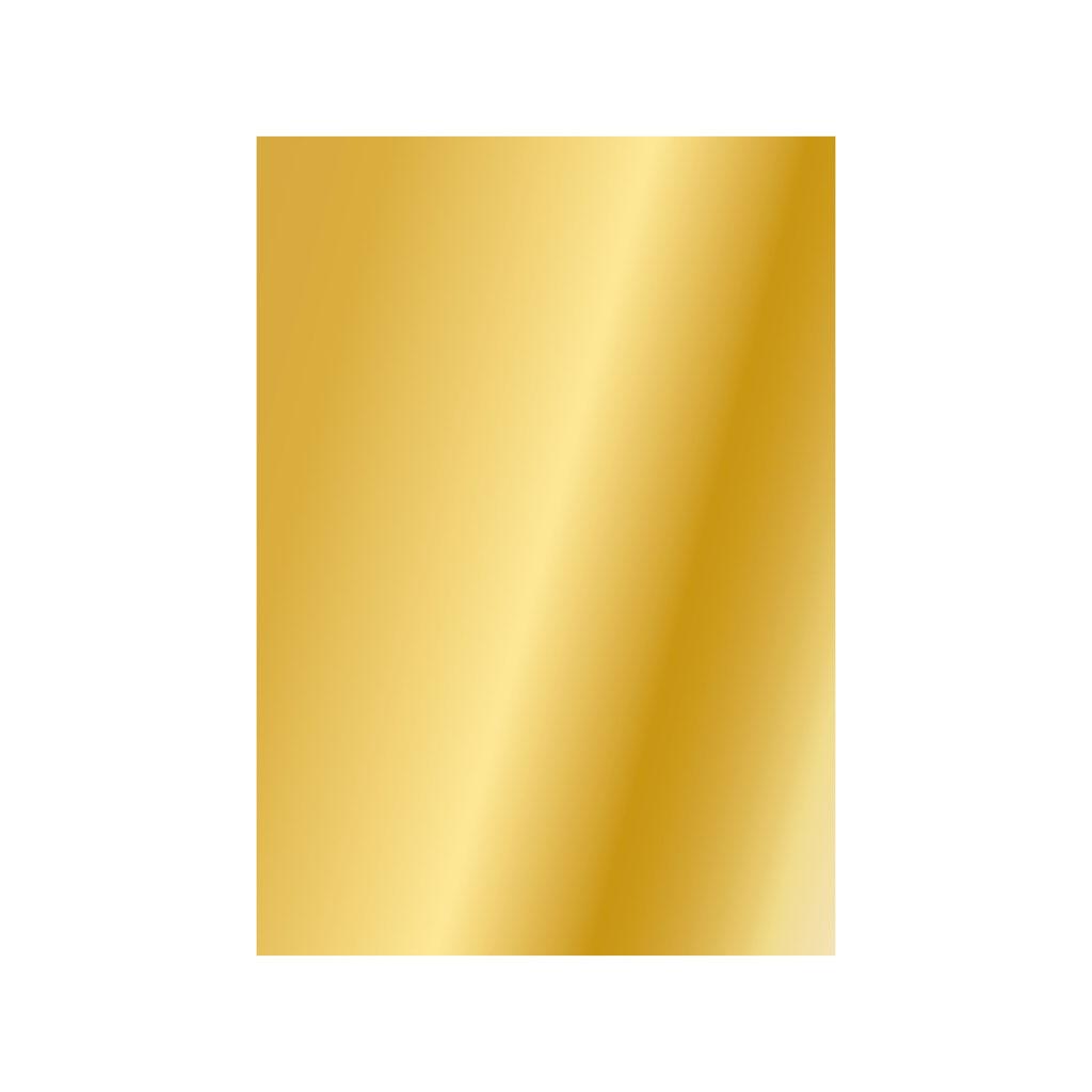 Papier hodvábny, 50x70 cm, 5 ks - zlatý