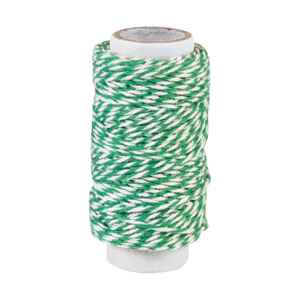 Bavlnený špagát, 20 m - mix farieb