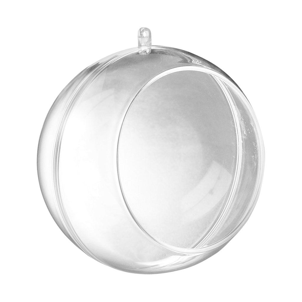Acrylová guľa s výrezom, 12 cm