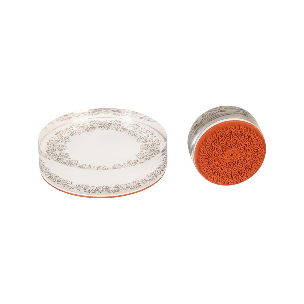 Pečiatky akrylové, 2 ks - mix motívov