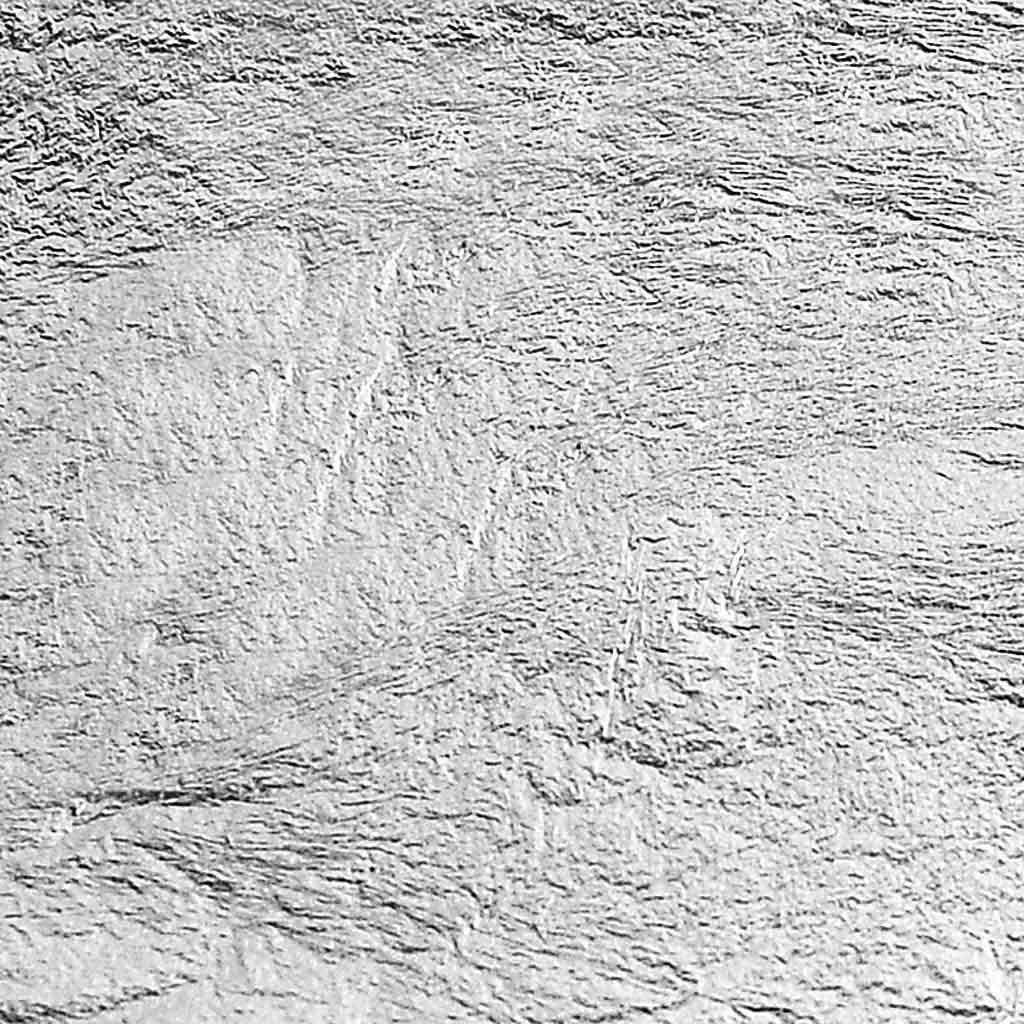 Kovový list 14 x 14 cm/ 25 hárkov - strieborný