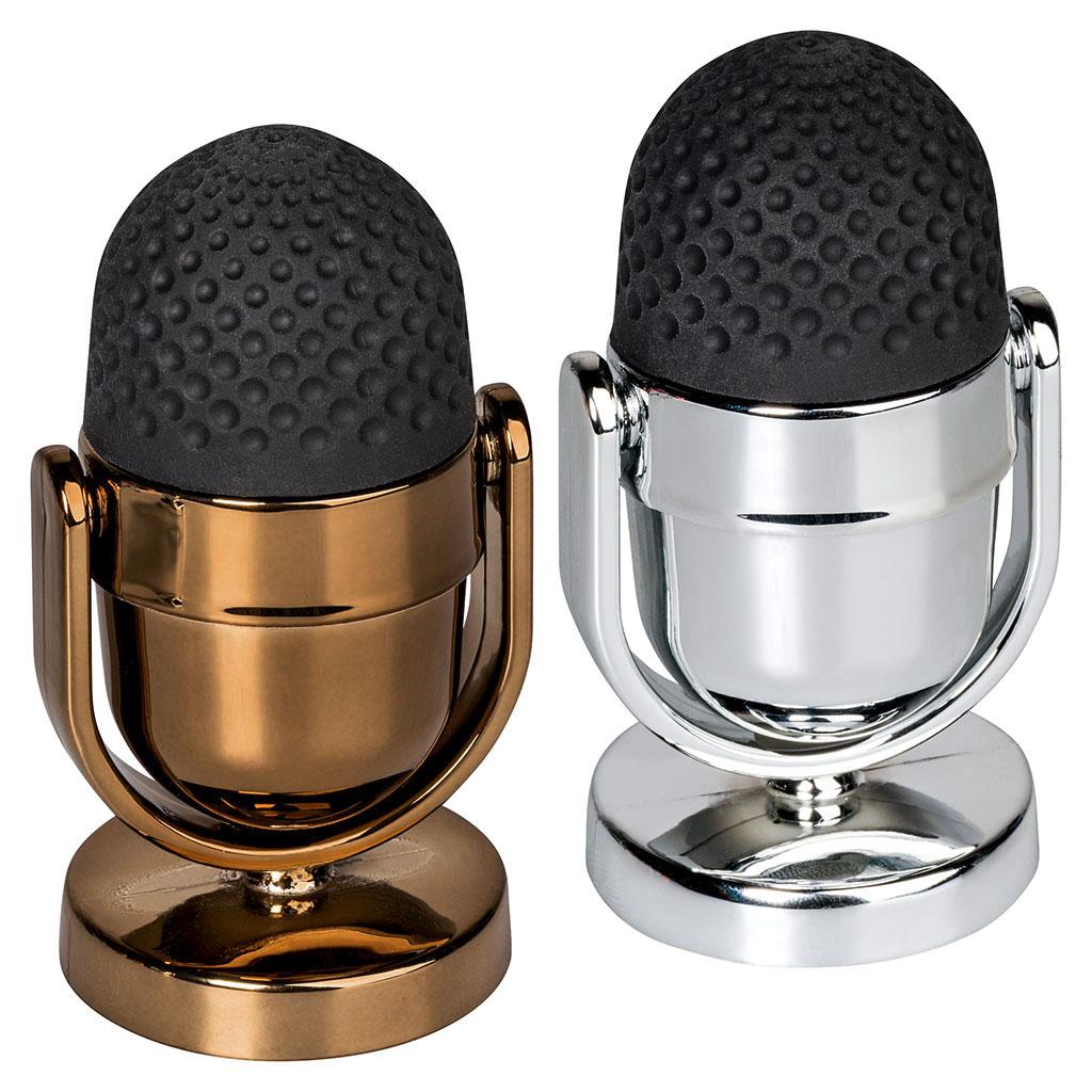 Strúhadlo s gumou Mikrofón - mix farieb