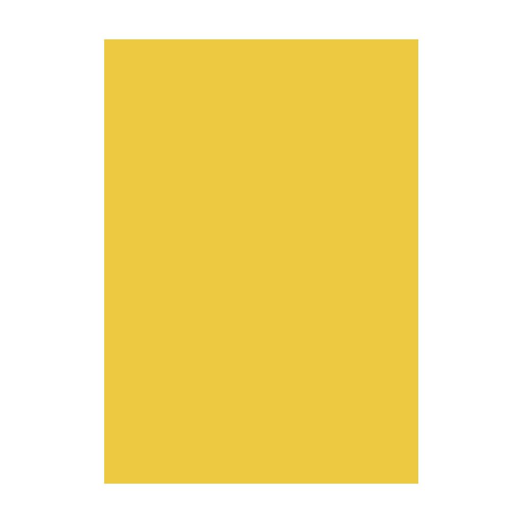 Kresliaci kartón 300g/m2 A4 - citrónovo žltý