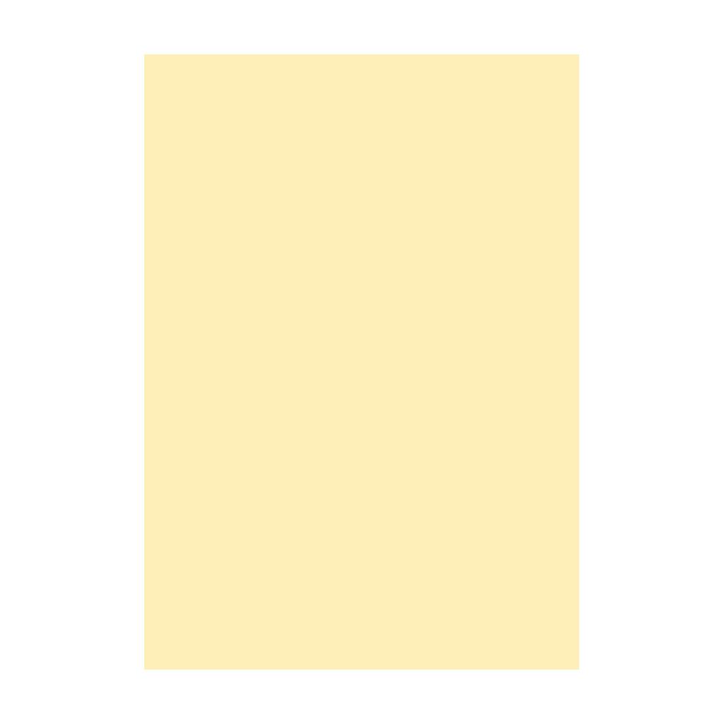 Kresliaci kartón 300g/m2 A4 - banánovo žltý