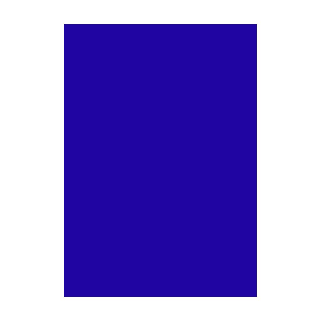 Kresliaci kartón 300g/m2 A4 - ultramarínový modrý