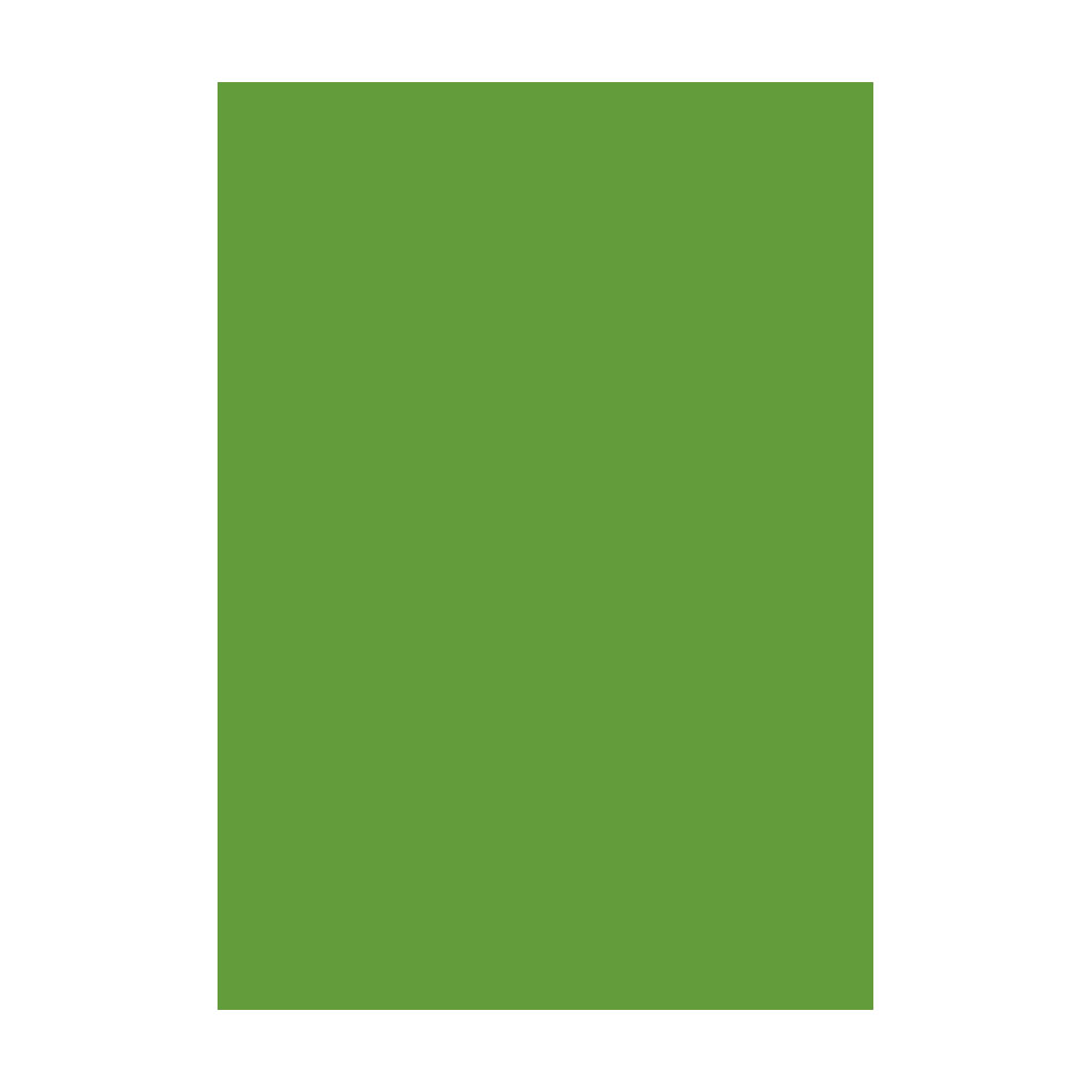 Kresliaci kartón 300g/m2 A4 - trávovo zelený