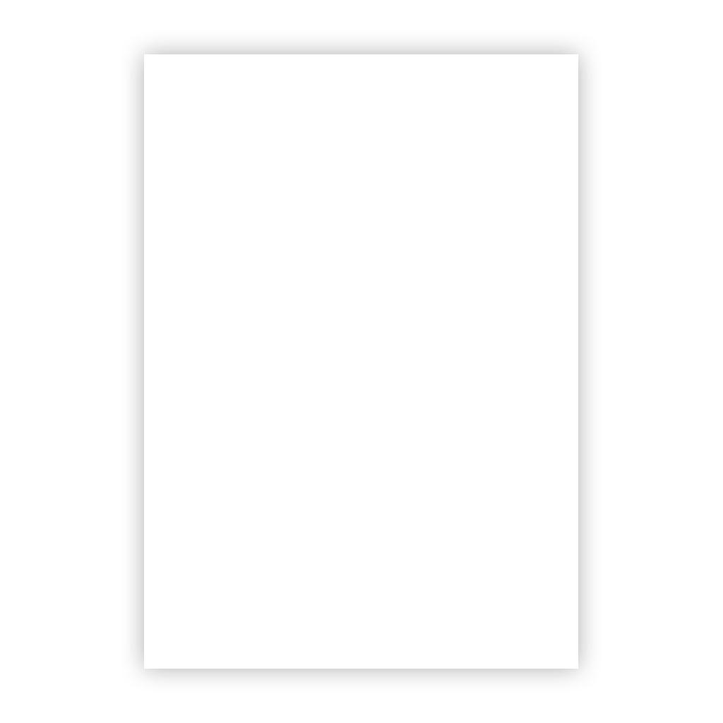 Kresliaci kartón 300g/m2 50x70 cm - biely