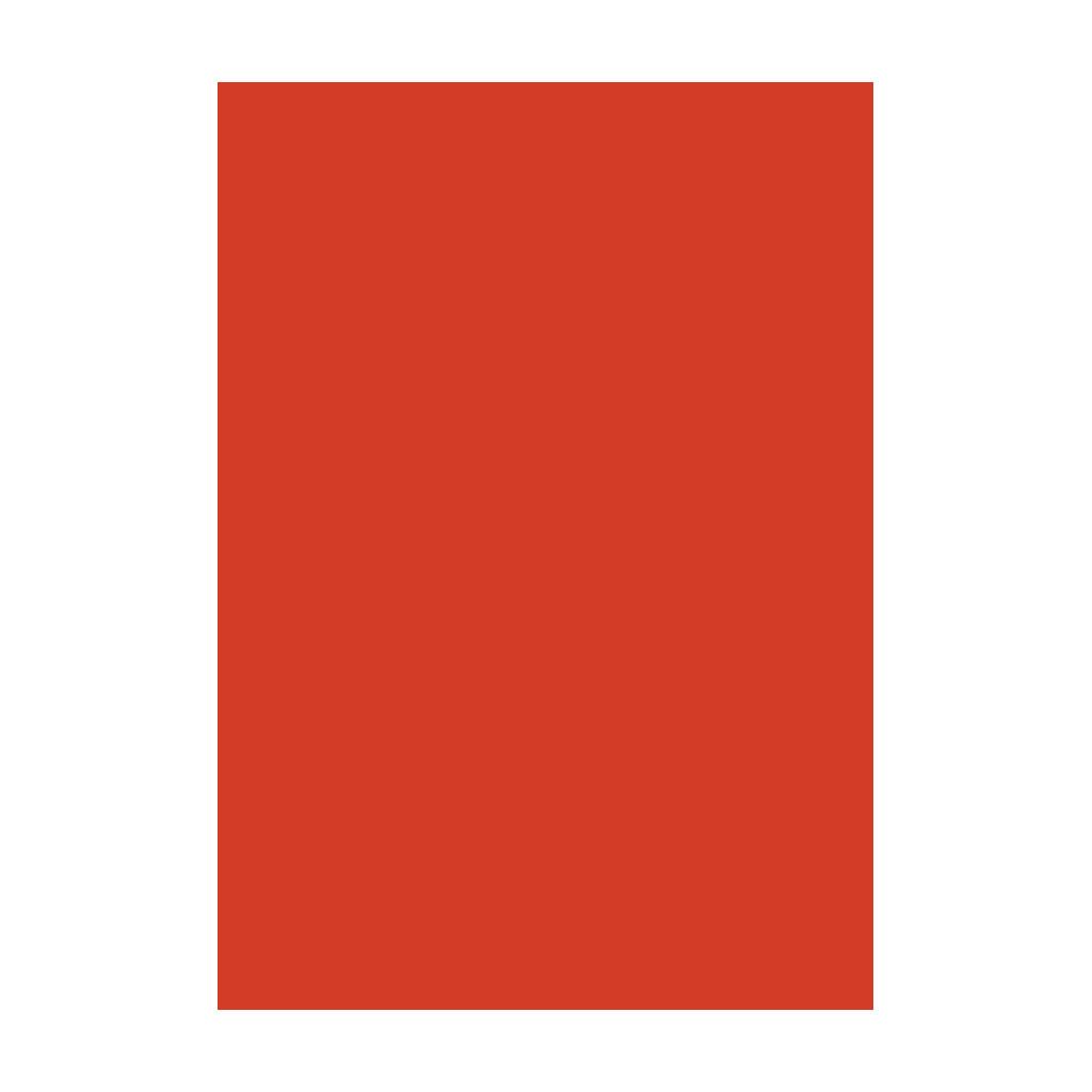 Kresliaci kartón 300g/m2 50x70 cm - svetlo červený