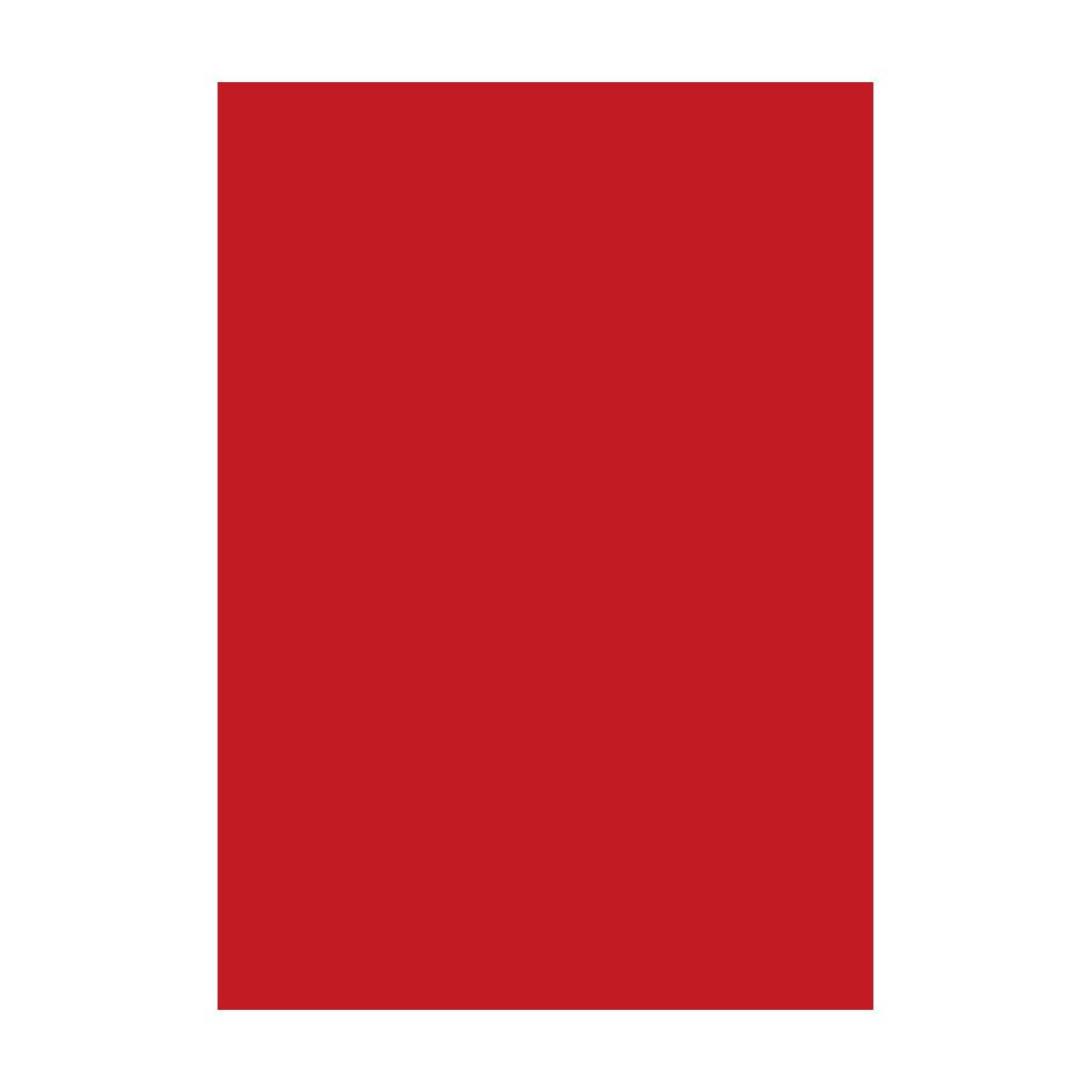 Kresliaci kartón 300g/m2 50x70 cm - červený