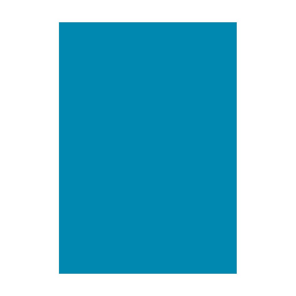 Kresliaci kartón 300g/m2 50x70 cm - pacifický modrý