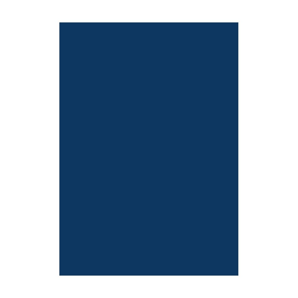Kresliaci kartón 300g/m2 50x70 cm - kráľovský modrý