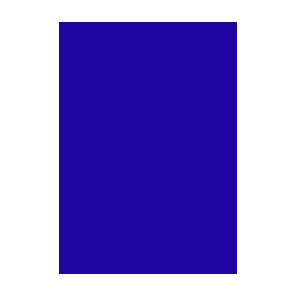 Kresliaci kartón 300g/m2 50x70 cm - ultramarínový modrý