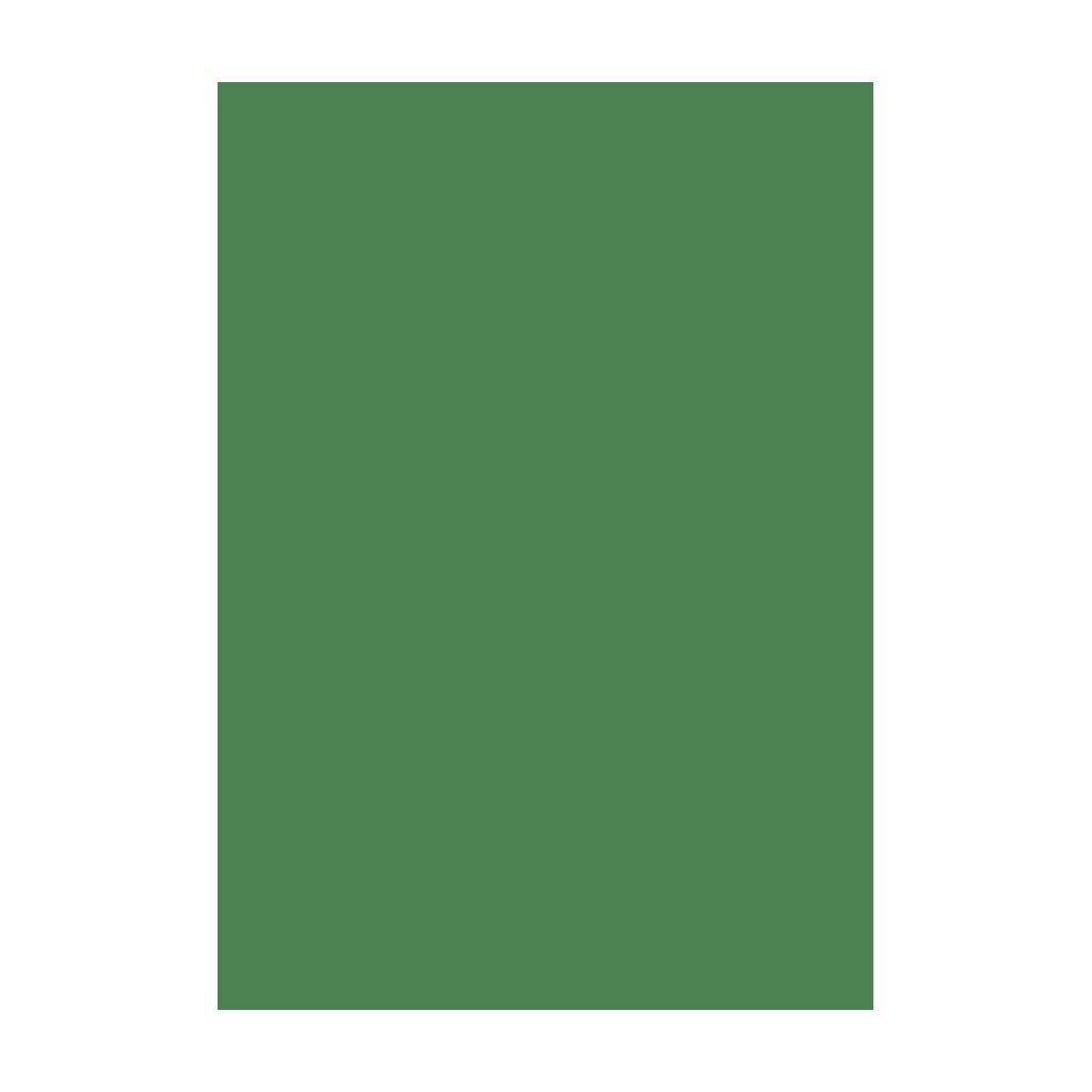 Kresliaci kartón 300g/m2 50x70 cm - smaragdovo zelený