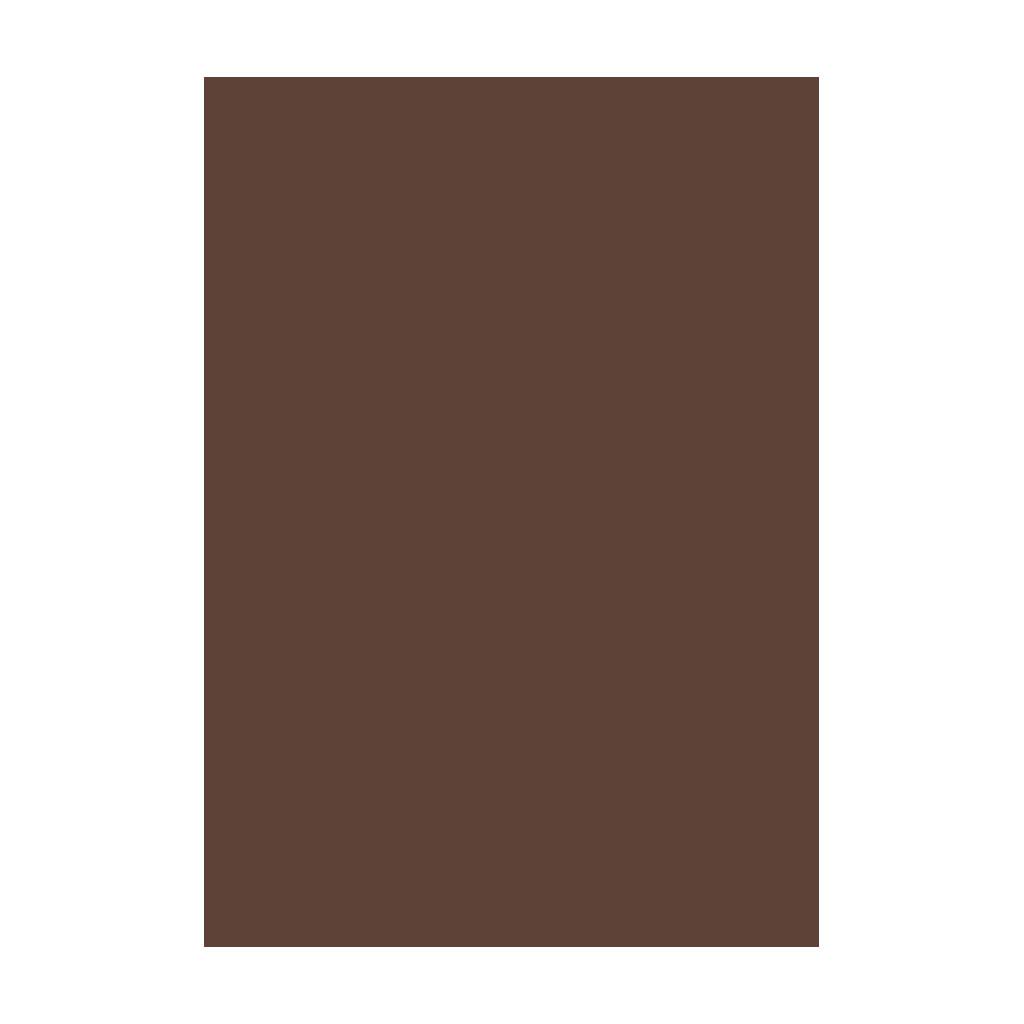 Kresliaci kartón 300g/m2 50x70 cm - čokoládovo hnedý