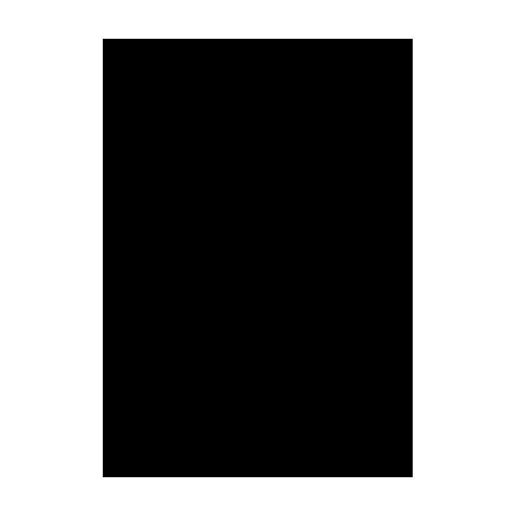 Kresliaci kartón 300g/m2 50x70 cm - čierny