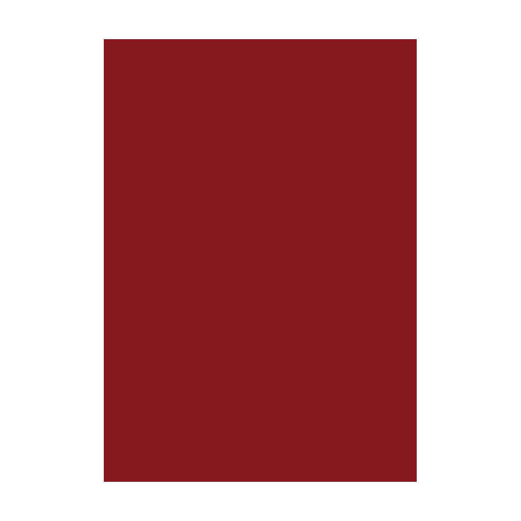 Kresliaci kartón 300g/m2 50x70 cm - tmavo červený