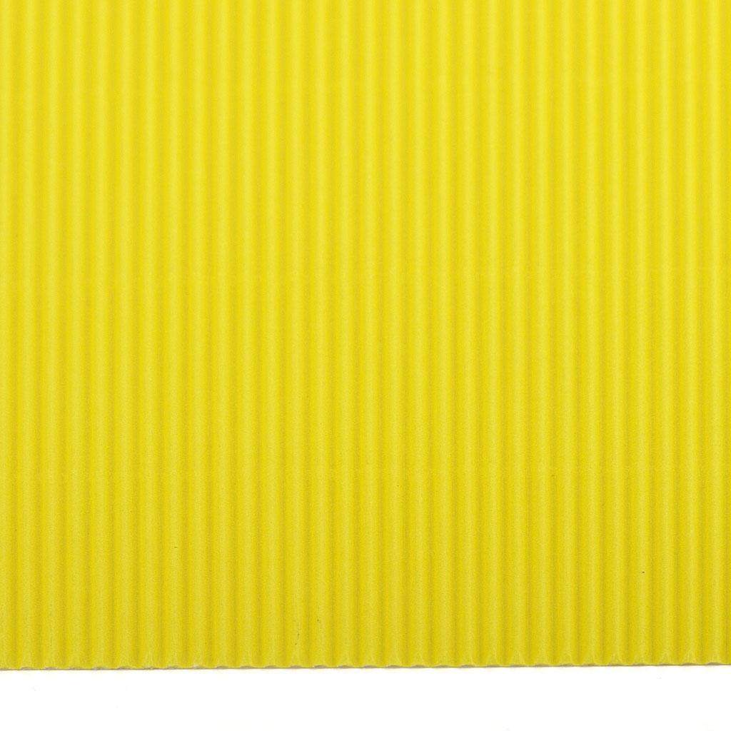 Vlnitá lepenka 50x70 - citrón. žltá