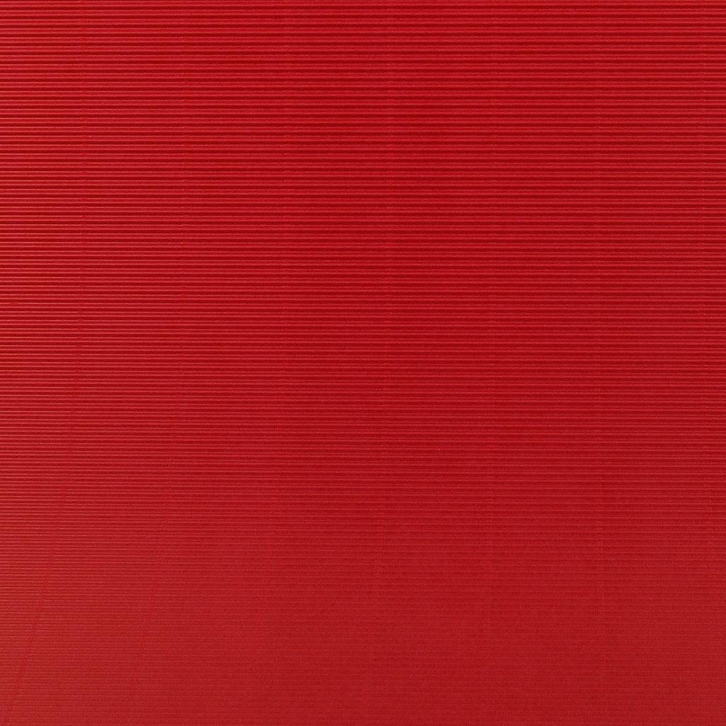 Vlnitá lepenka 50x70 - červená