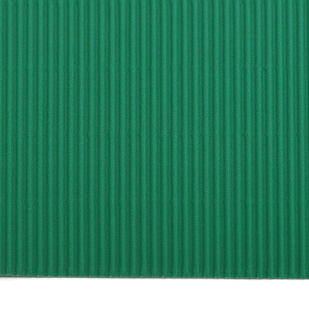 Vlnitá lepenka 50x70 - zelená