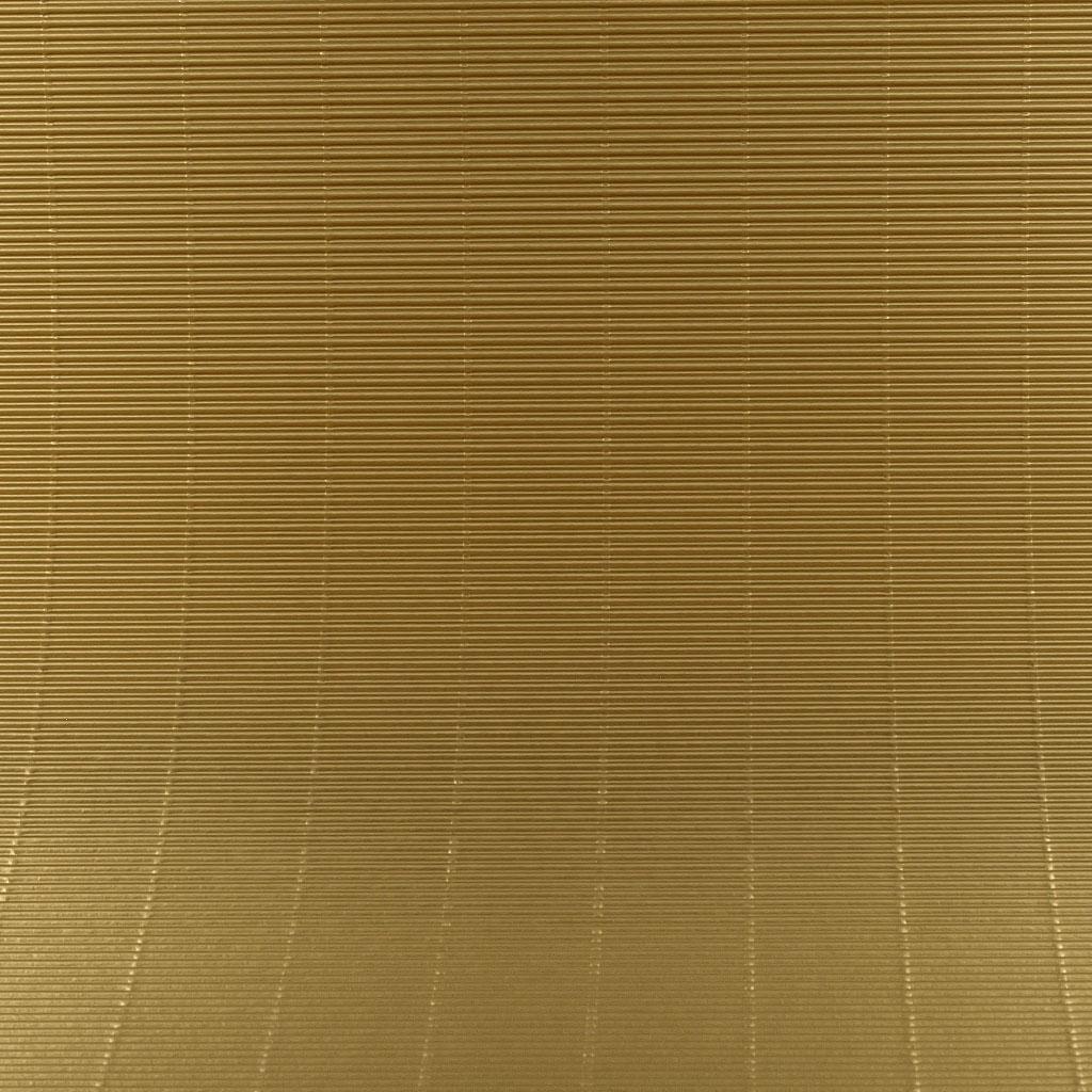 Vlnitá lepenka 50x70 - zlatá