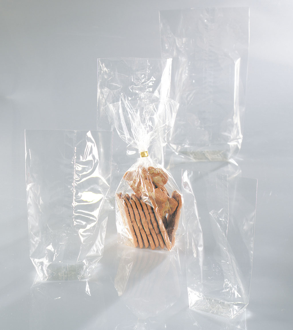 Vrecko celofánové, 14,5 x 23,5 cm, 10 ks