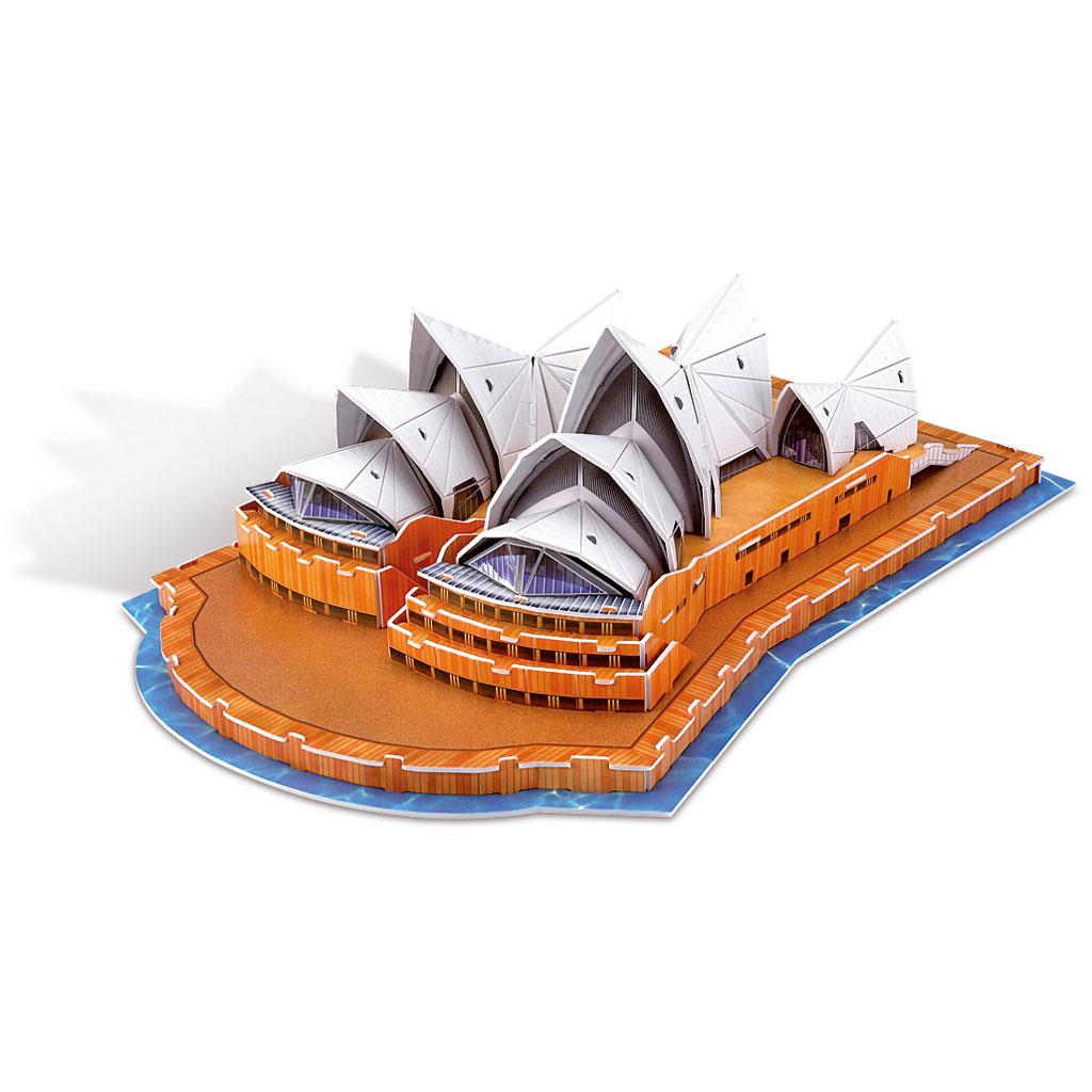 3D Papierové skladačky Opera House Sydney, 58 dielov