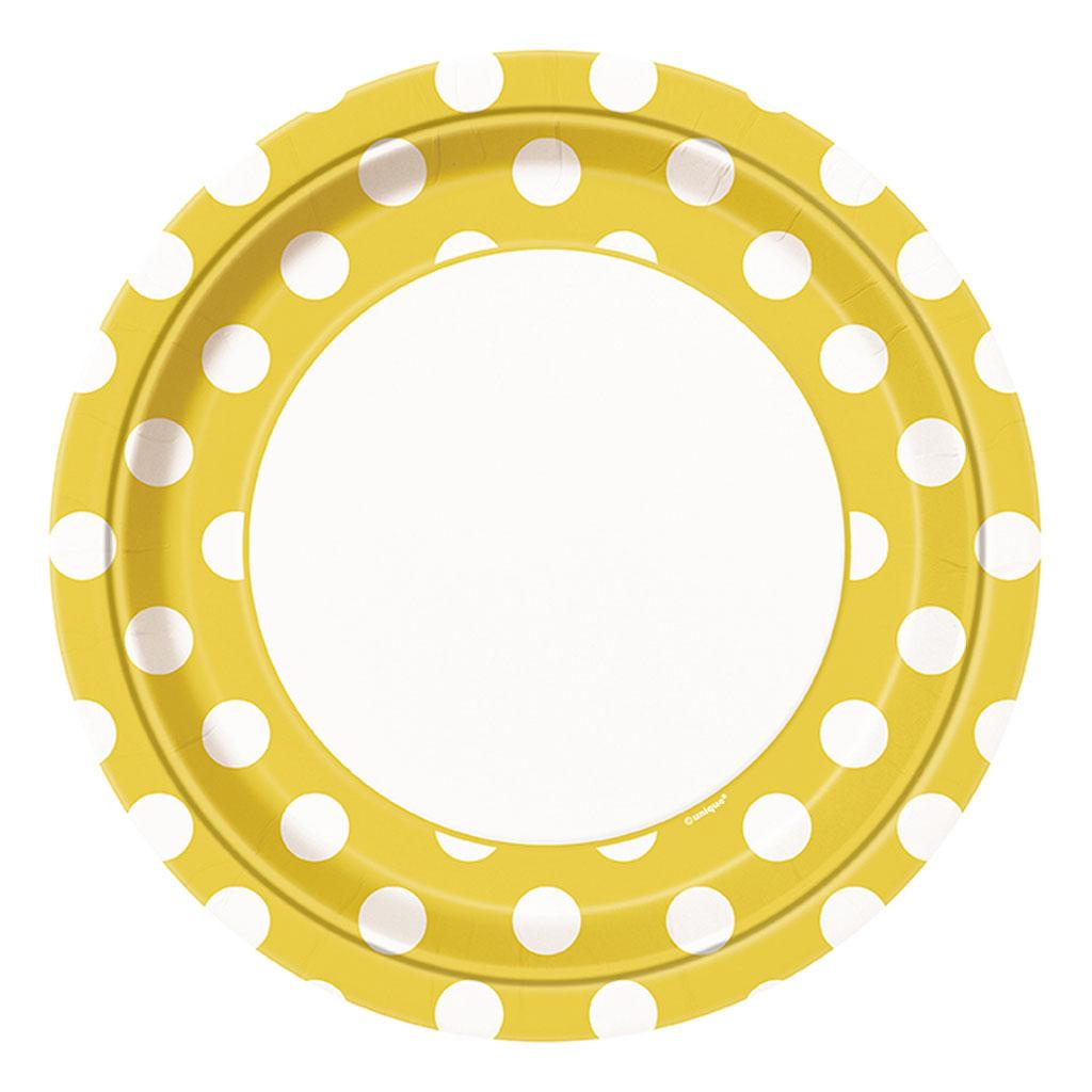 """Tanierik """"žlté bodky"""", 8 ks"""
