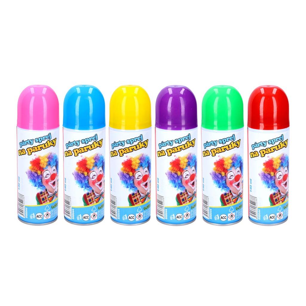 Farba na vlasy - spray 140 ml