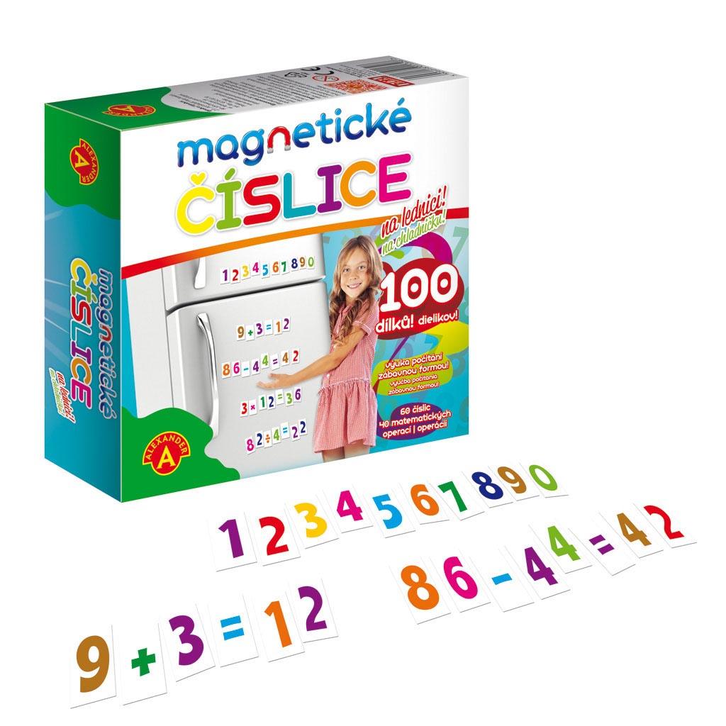 Magnetické číslice, 100 ks