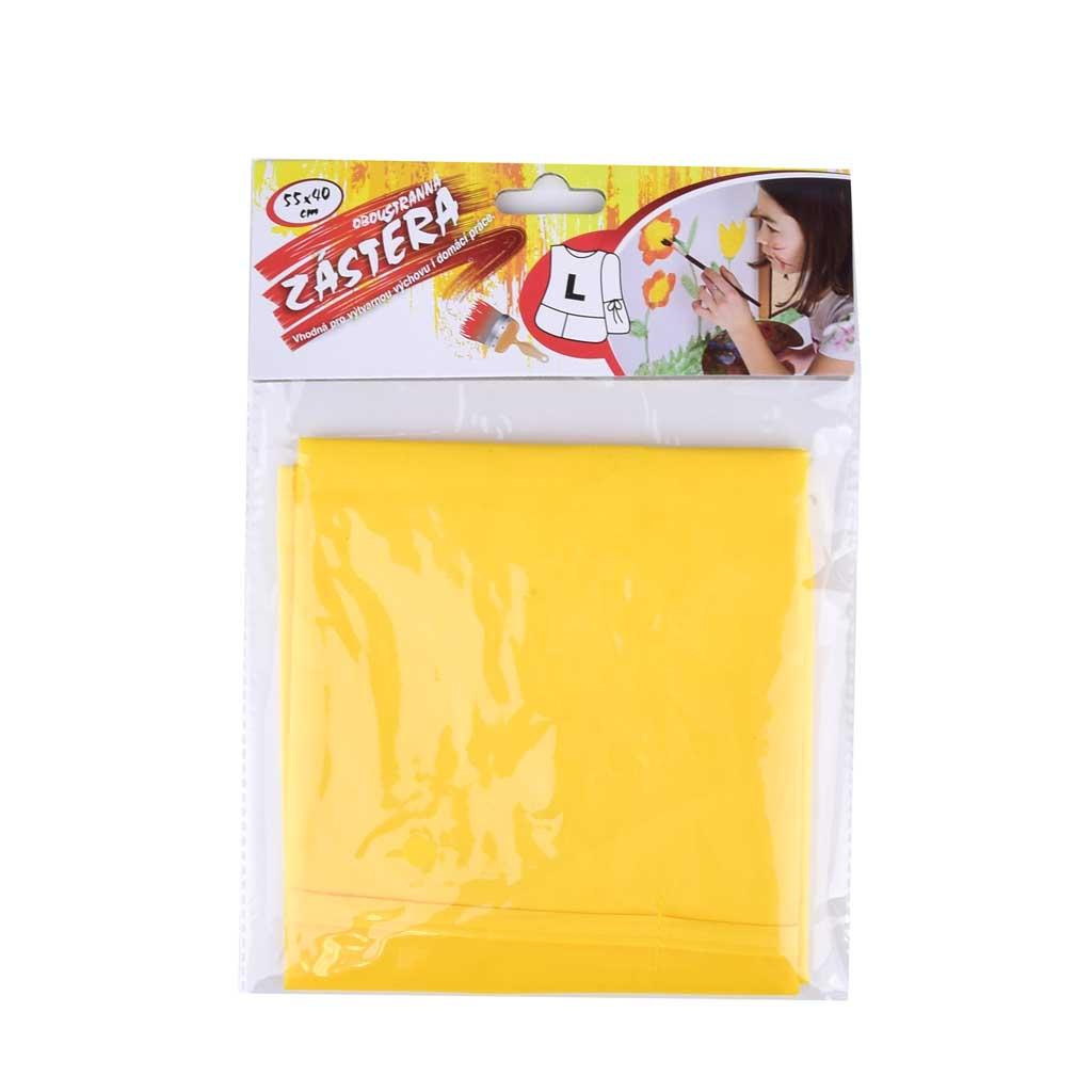 Zástera na maľovanie, žltá, rozmer 550 x 400 mm