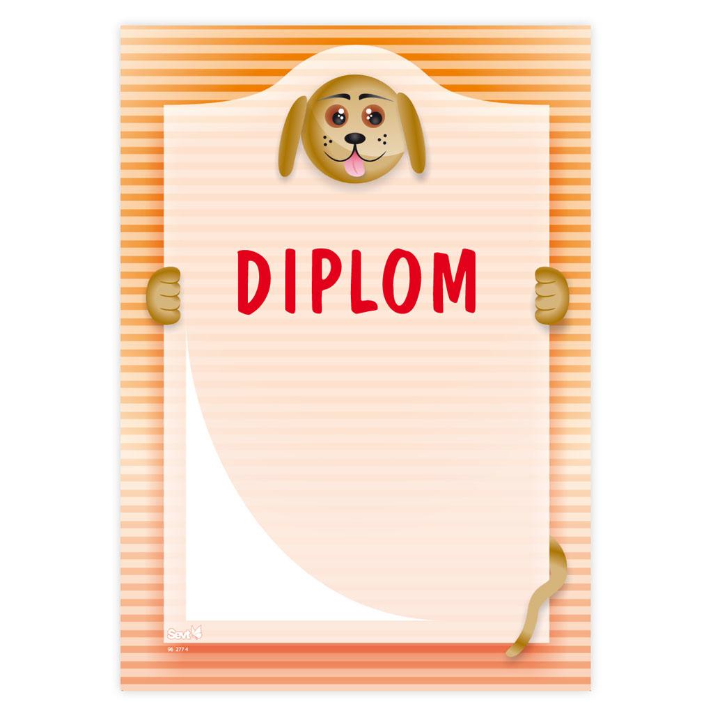 Diplom (univerzálny - psík)