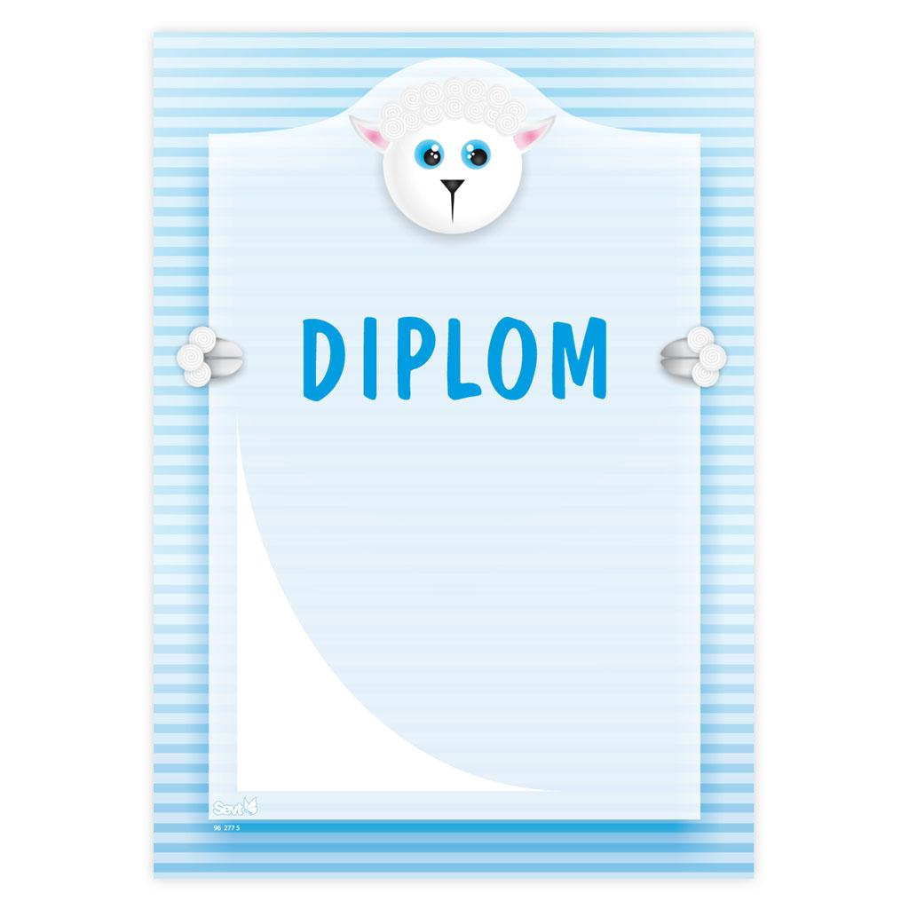 Diplom (univerzálny - ovečka)