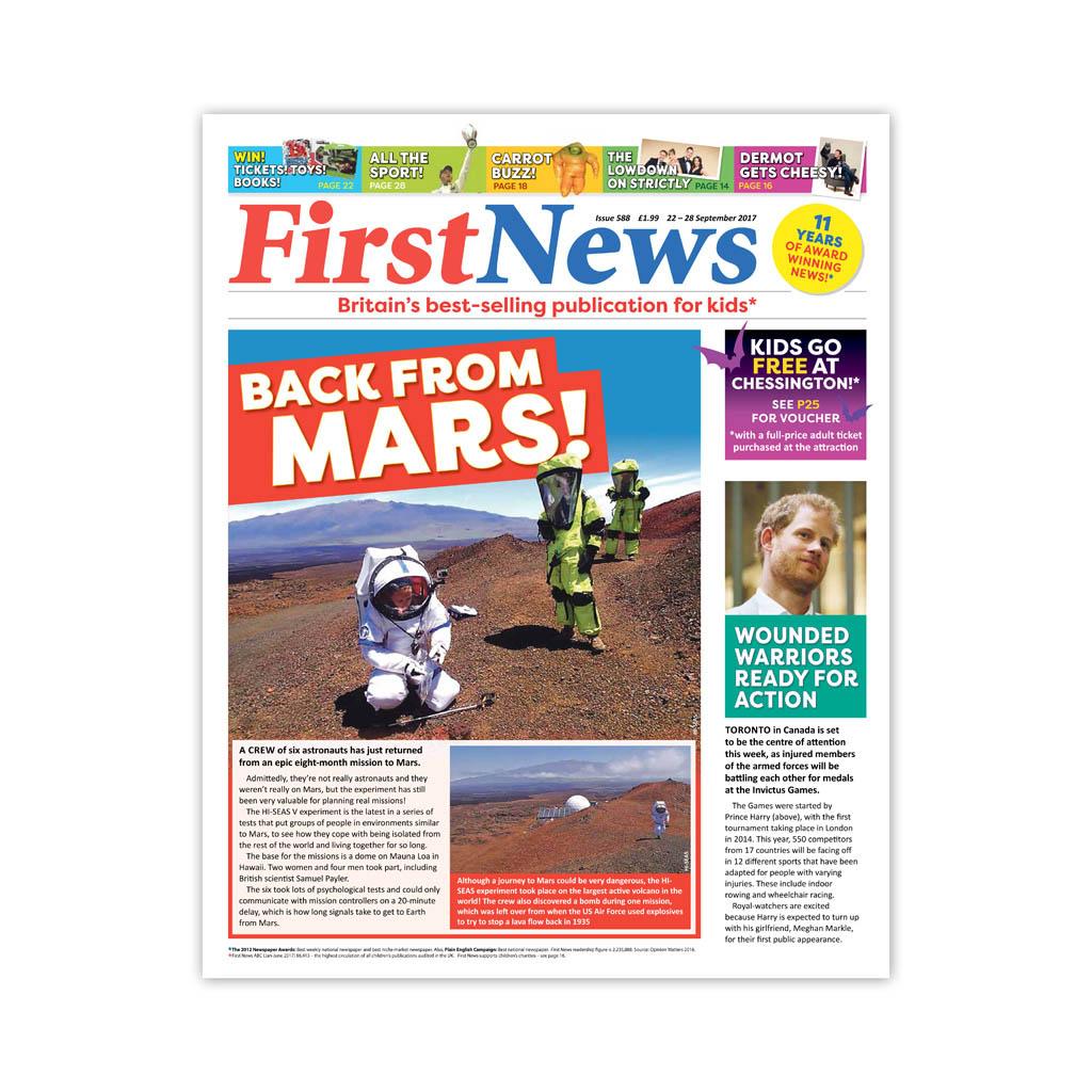 Noviny First News - číslo 1 (588/ 2017)