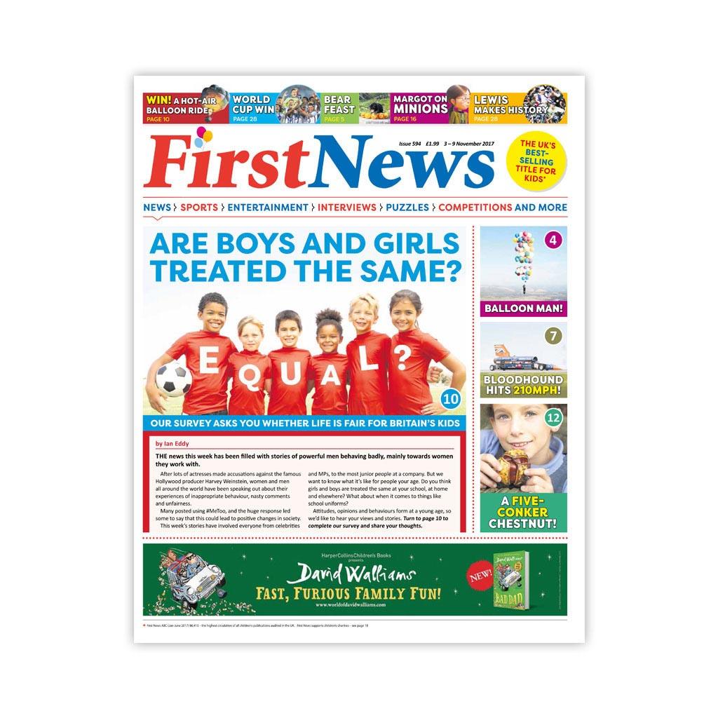 Noviny First News - číslo 3 (594/ 2017)