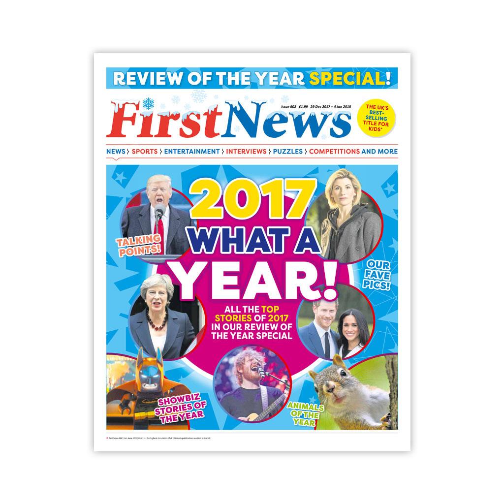 Noviny First News - číslo 5 (602/ 2017 - 2018)