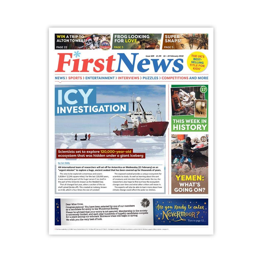 Noviny First News - číslo 7 (609/ 2018)