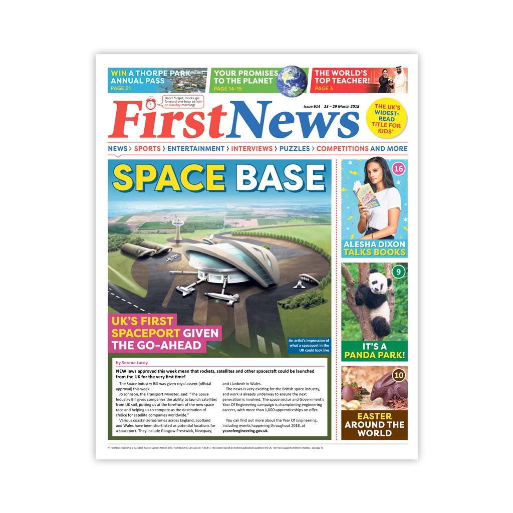 Noviny First News - číslo 8 (614/ 2018)