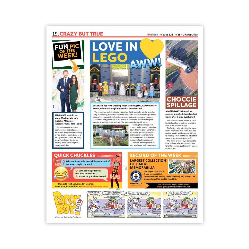 Noviny First News - číslo 10 (622/2018)