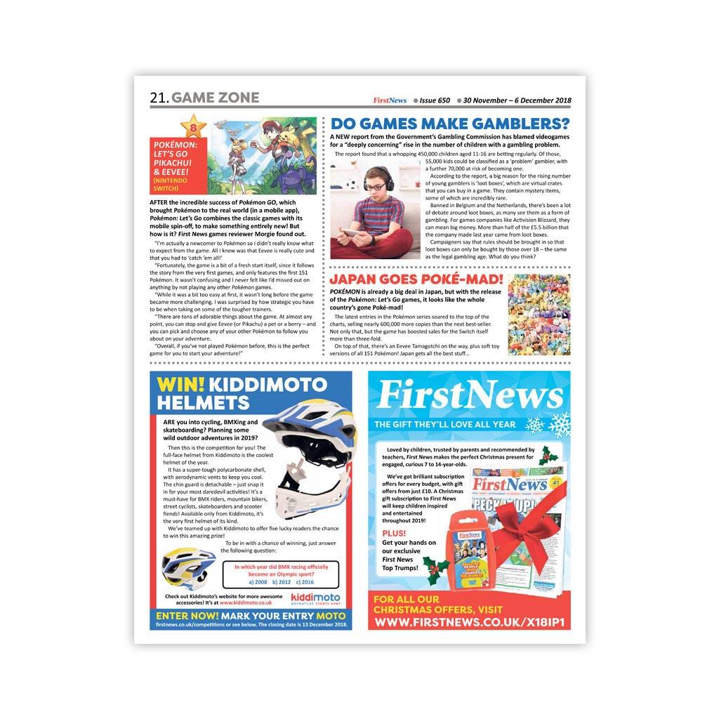 Noviny First News - číslo 4 (650/ 2018)