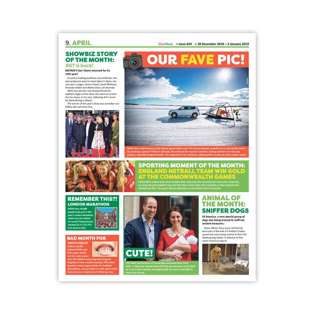 Noviny First News - číslo 5 (654/ 2018 - 2019)