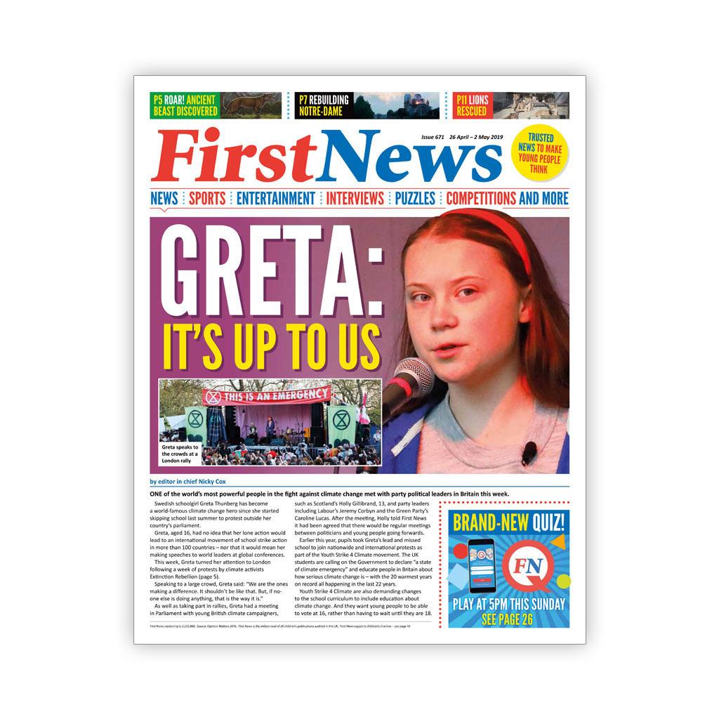 Noviny First News - číslo 9 (671/ 2019)