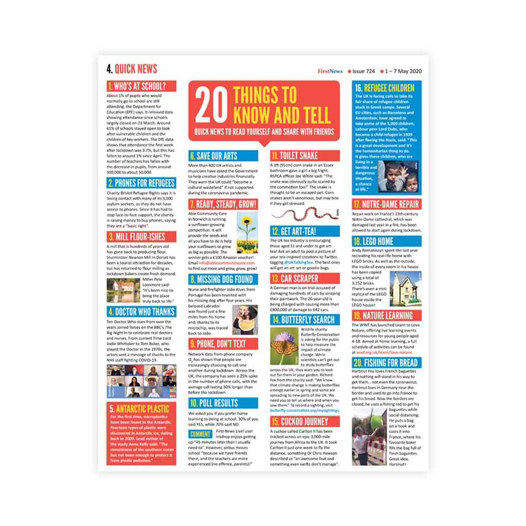 Noviny First News - číslo 10 (724/ 2020)