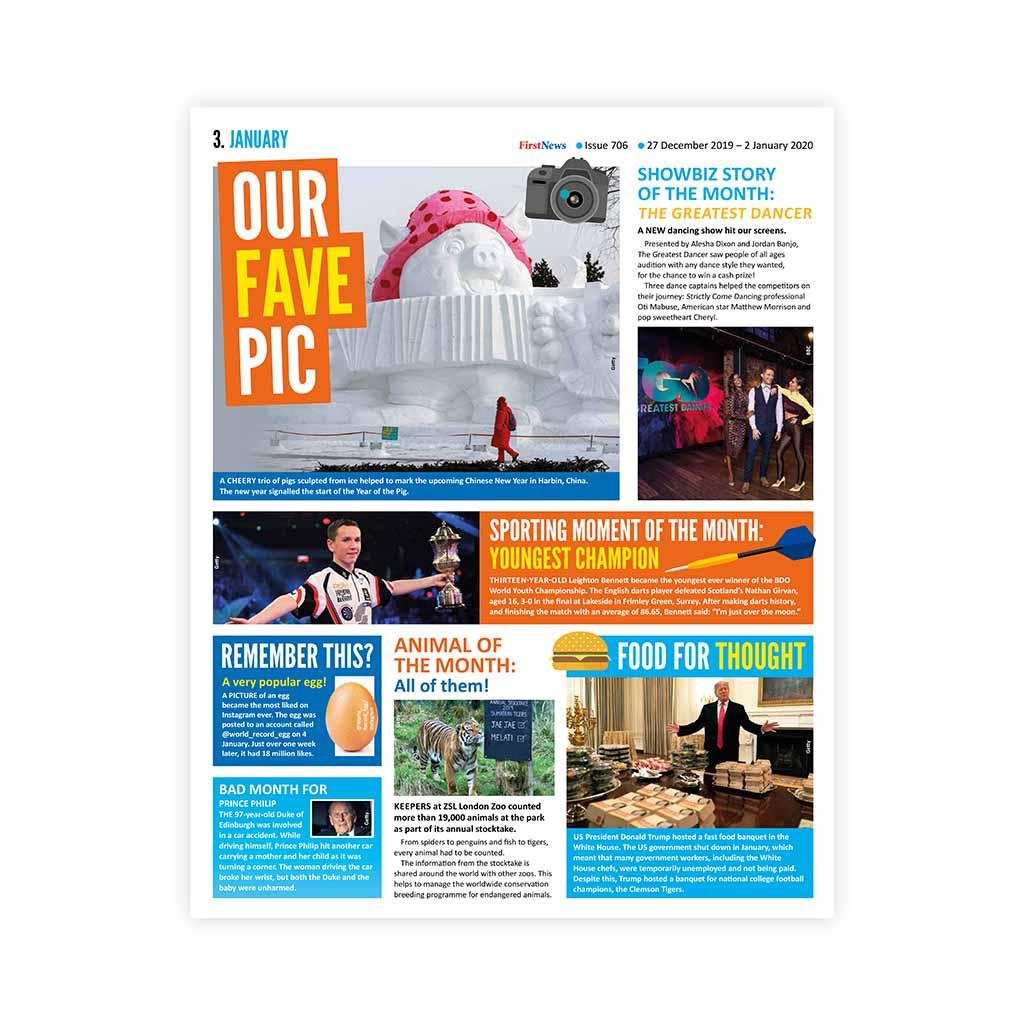 Noviny First News - číslo 5 (706/ 2019-2020)